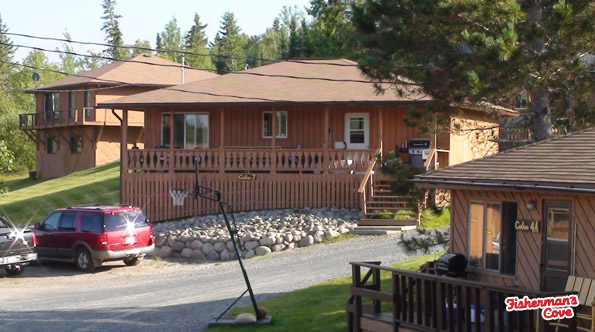 Cabins at fisherman 39 s cove on famous lac seul for Lac seul fishing resorts
